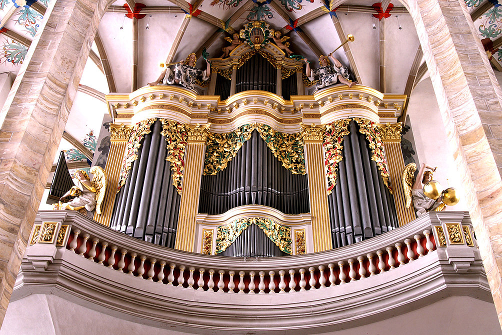 Dom St. Mary, Silbermann-Organ